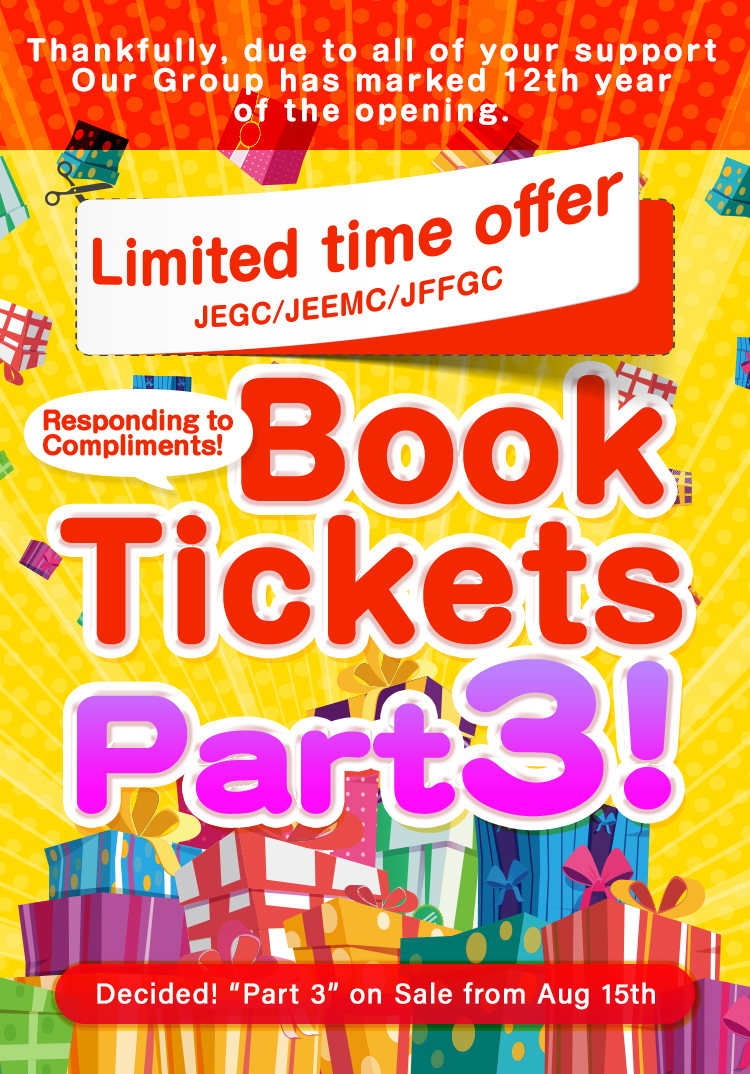 We're offering a great deal of Book Tickets!