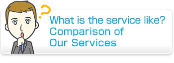 comparition of our services