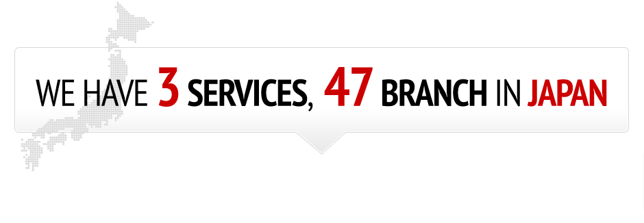 3 services,47 branches